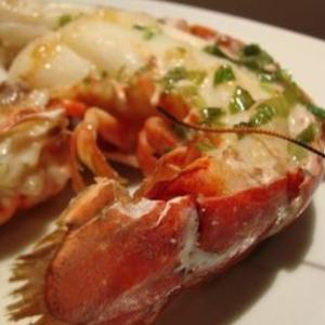 Demi homard poelé